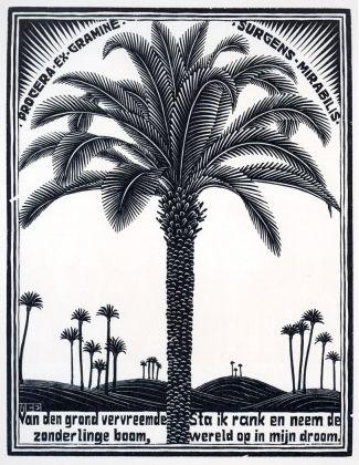 Maurits Cornelis Escher, Palma