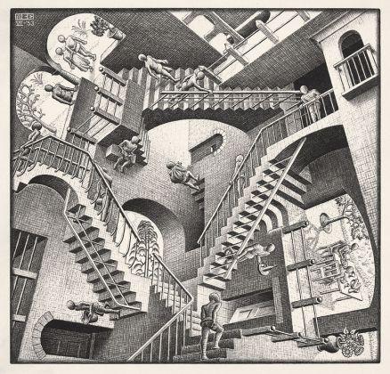 Maurits Cornelis Escher, Relatività