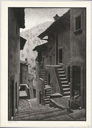 Maurits Cornelis Escher, Steet in Scanno