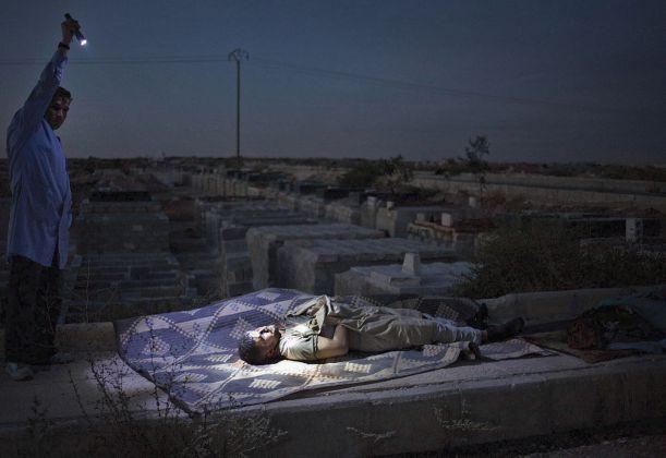 Maysun, On pain, Syria, 13 ottobre 2012
