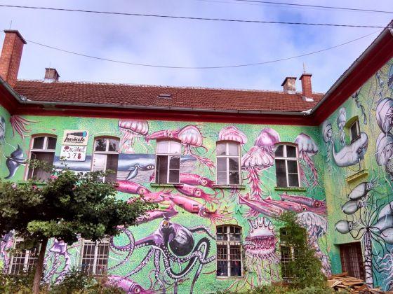 Metelkova, Lubiana. Photo Giorgia Losio