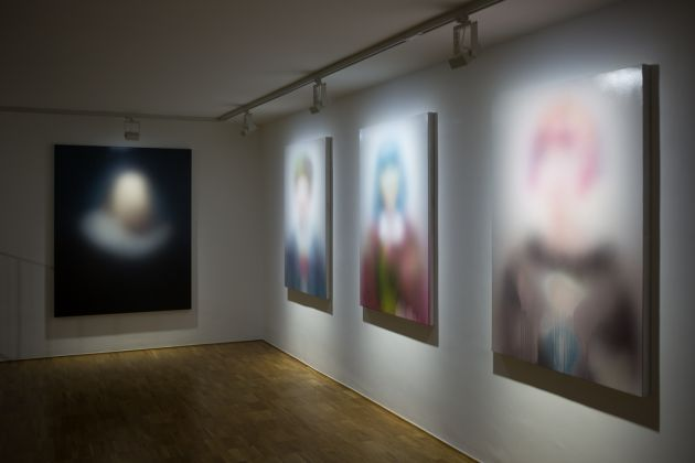 Miaz Brothers. Hazy state of affairs. Exhibition view at Wunderkammern, Milano 2017. Photo different.photography