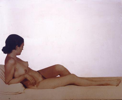 Michelangelo Pistoletto, Nudo color seppia. Venere Maria, 1974. Collezione Palli