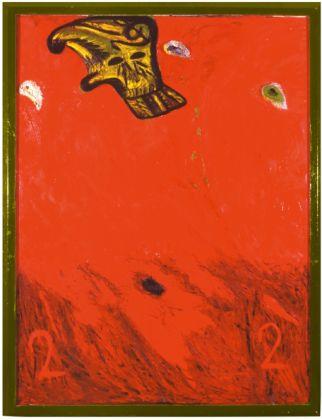 Mimmo Paladino, Improvvisamente ansioso, 1989. Collezione Palli