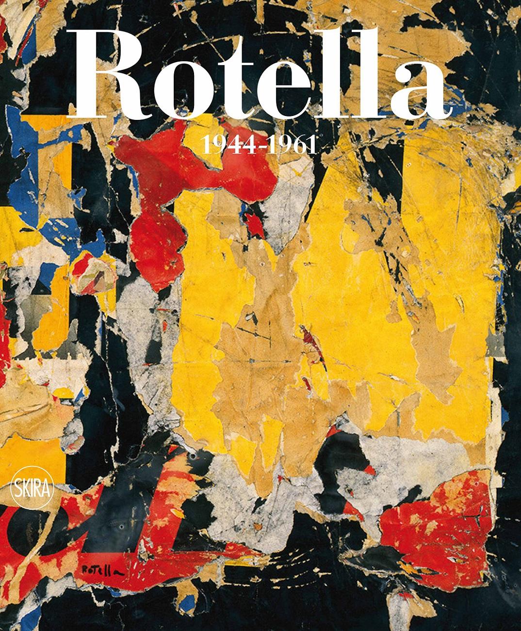Mimmo Rptella, la copertina del catalogo generale, vol. 1
