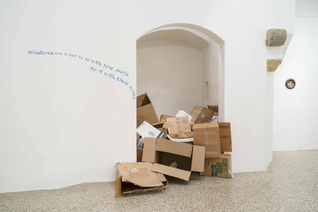 Nedko Solakov, The Boxes (from Some Nice Things to Enjoy While You Are Not Making a Living), 2008. Courtesy the artist & Galleria Continua, San Gimignano, Beijing, Les Moulins, Habana