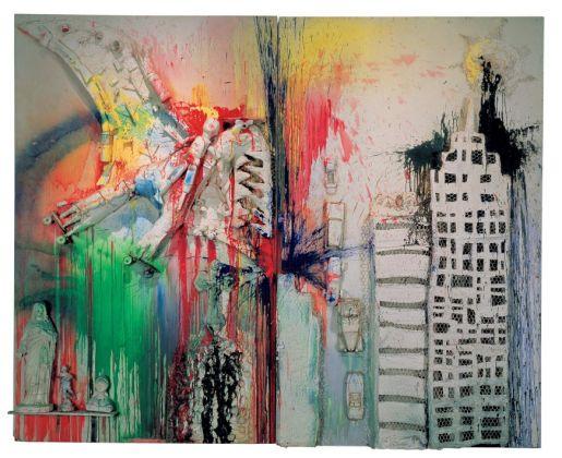 Niki de Saint Phalle, Pirodactyl Over New York, 1962. The Creative Act Performance, Process, Presence. Guggenheim, Abu Dhabi, 2017 2