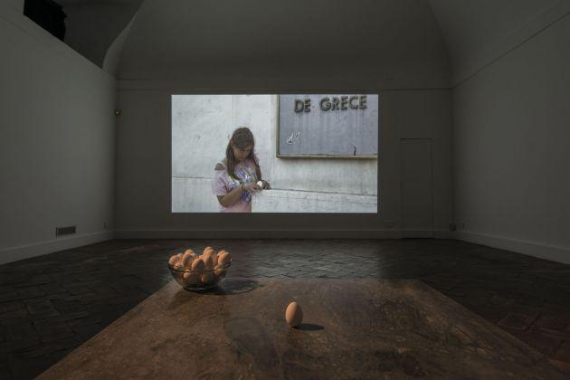Nina Fischer & Maroan el Sani. Dynamis. Installation view at Marie-Laure Fleisch, Roma 2017
