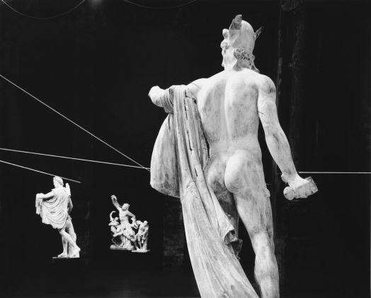 Opus Gypsicum, dalla serie In scena, Bergamo 1996 © Mario Cresci