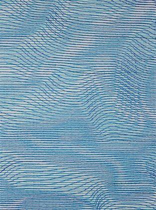 Patrick Tabarelli, {F}, 2017, inchiostro acrilico su tela
