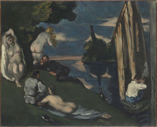 Paul Cézanne, Pastorale, 1870, olio su tela, 65 x 81,5 cm, Parigi, Musée d'Orsay © René-Gabriel Ojéda – RMN-Réunion des Musées Nationaux – distr. Alinari