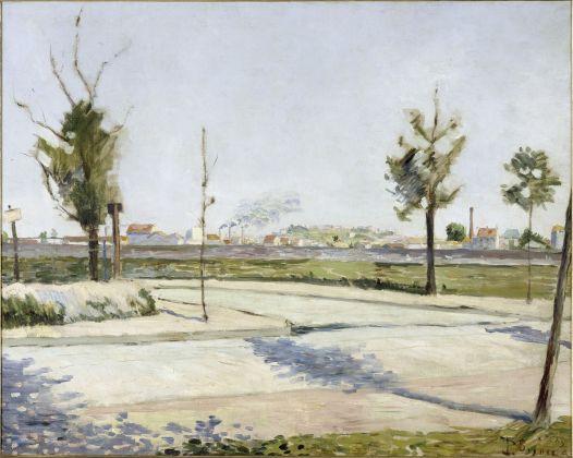 Paul Signac, Strada di Gennevilliers, 1883, olio su tela, 72,9 x 91,6 cm, Parigi, Musée d'Orsay © René-Gabriel Ojéda – RMN-Réunion des Musées Nationaux – distr. Alinari