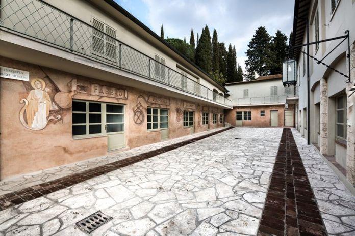 Gli affreschi di Gerardo Dottori nello stabilimento Spagnoli