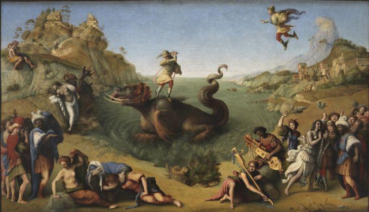 Piero di Cosimo, Liberazione di Andromeda, 1510-1513 circa - dettaglio