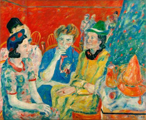 Renato Birolli, Le signorine Rossi, 1938. Collezione Giuseppe Iannaccone