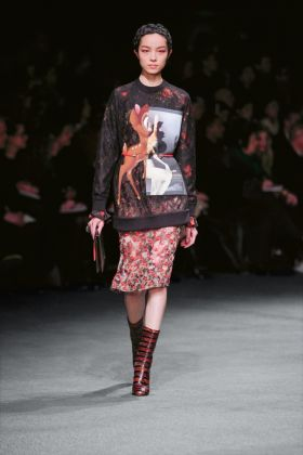 Riccardo Tisci for Givenchy, Autumn/Winter 2013 – 2014, Ready-to-wear. Photo Monica Feudi for Tanzania. Courtesy Givenchy