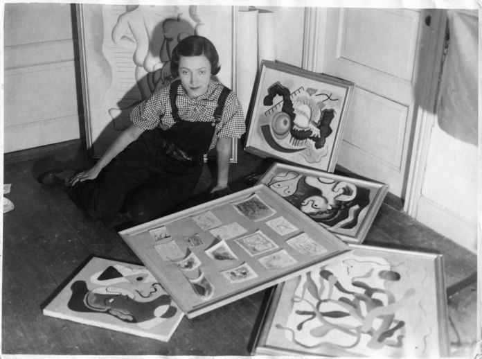 Rita Kernn-Larsen a Copenhagen, 1934. Collection of Danielle Grünberg
