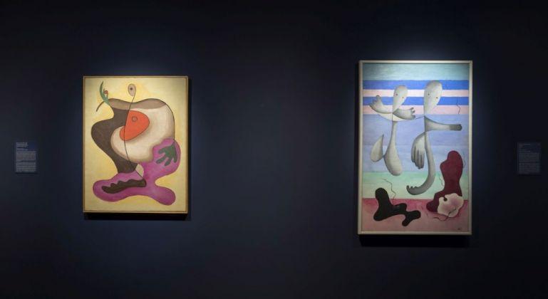 Rita Kernn-Larsen. Dipinti surrealisti. Exhibition view at Peggy Guggenheim Collection, Venezia 2017. Photo Matteo de Fina