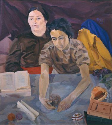 Roberto Melli, La lettura, 1942. Collezione Giuseppe Iannaccone