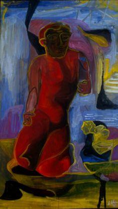Sandro Chia, Senza titolo, 1989. Collezione Palli