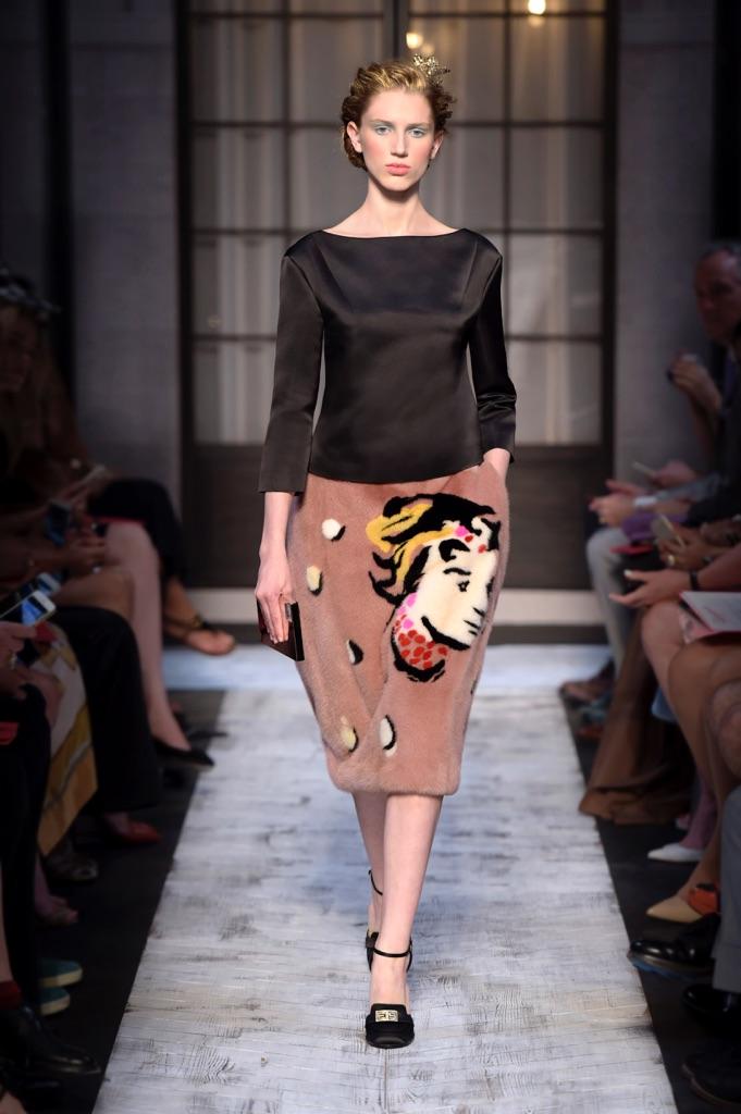 Schiaparelli, Autumn/Winter 2015 – 2016, Haute Couture. Courtesy Schiaparelli Haute Couture