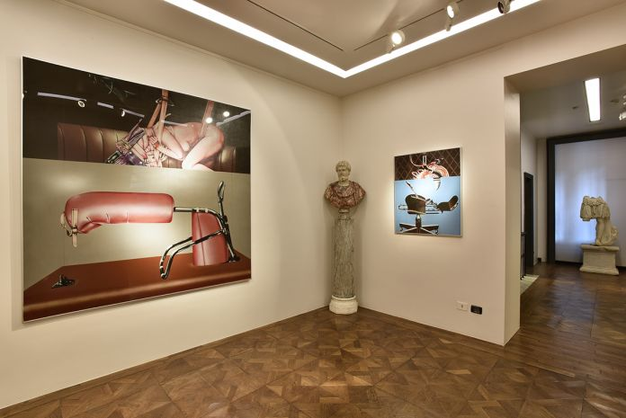 Sergio Sarri. Works 1967-2017. Installation view at Galleria Robilant + Voena, Milano 2017