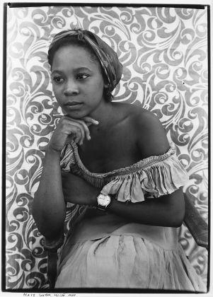 Seydou Keïta, ritratto, fotografia in bianco e nero, Collezione Bifulco