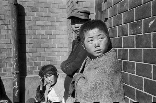 South Corea, Town of Pusan, 1952 © Werner Bischof-Magnum Photos