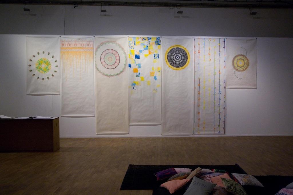 Stefano Arienti. Antipolvere. Exhibition view at Galleria Civica di Modena. Photo Francesca Mora
