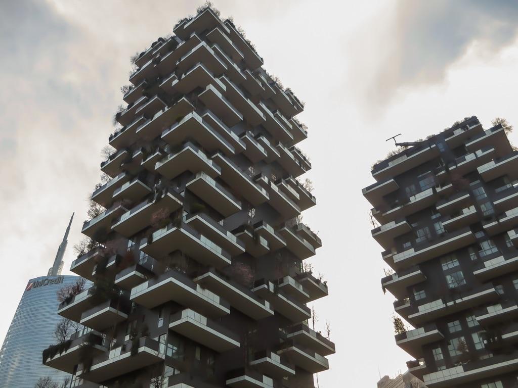 Foto Bosco Verticale Milano stefano boeri architetti, bosco verticale, milano. photo