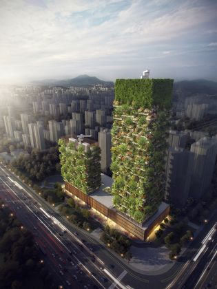 Stefano Boeri Architetti, Nanjing Vertical Forest. © Stefano Boeri Architetti