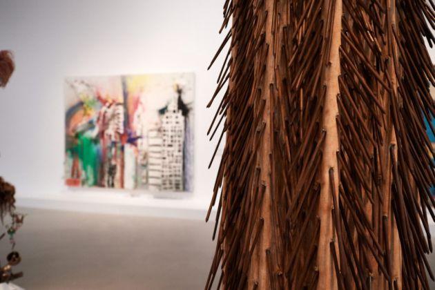 Tanaka Atsuko, Painting, 1960. The Creative Act Performance, Process, Presence. Guggenheim, Abu Dhabi, 2017