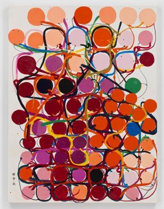 Tanaka Atsuko, Painting, 1960. Vinyl paint on canvas, 131.5 x 97.5 cm