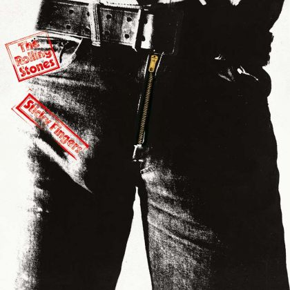 The Rolling Stones, Sticky Fingers, cover di Andy Warhol