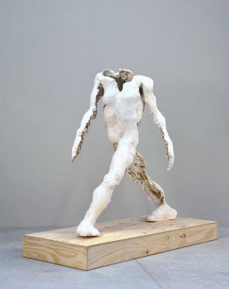 Thomas Houseago, Walking Man (Homme marchant), 1995, © Adagp, Paris 2017