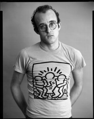 Timothy Greenfield-Sanders, Keith Haring, 1986