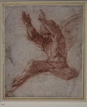 Un disegno di Raffaello all'Ashmolean Museum