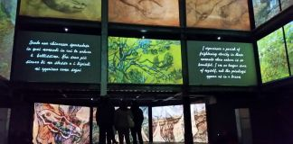 Van Gogh Alive. The experience. Palazzo degli Esami, Roma 2017