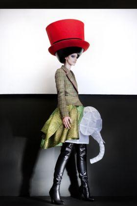 Walter Van Beirendonck, Hat by Stephen Jones, Autumn/Winter 2010-2011 © Ronald Stoops
