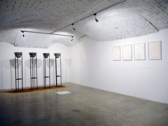 """We call it """"Africa"""". Installation view at Officine dell'Immagine, Milano 2017"""
