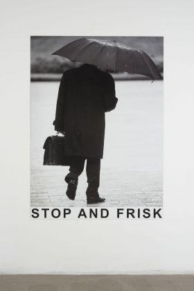 Will Benedict, Stop and Frisk, 2013. Photo Giorgio Benni. Courtesy Giò Marconi, Milano