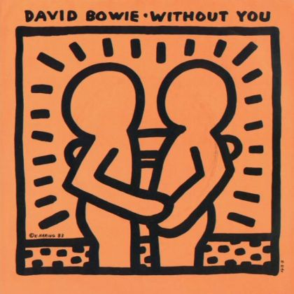 Without You, di David Bowie, con cover di Keith Haring