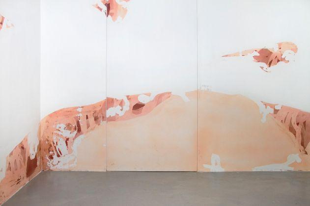Yorgos Stamkopoulos. Trajectory. Photo Laura Gianetti. Galleria Mario Iannelli, Roma 2017