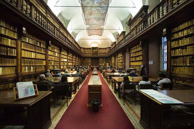 Biblioteca Braidense, Milano