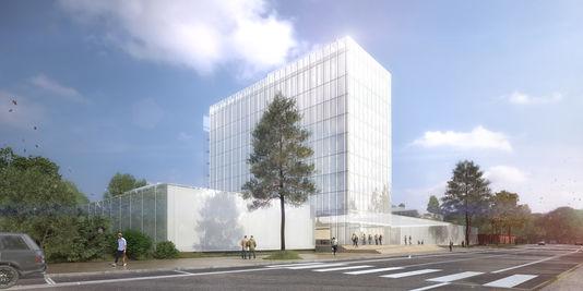 il rendering del progetto di Frank Gehry