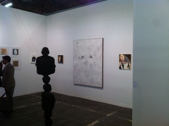 Gli stand di Monica De Cardenas e Luce Gallery