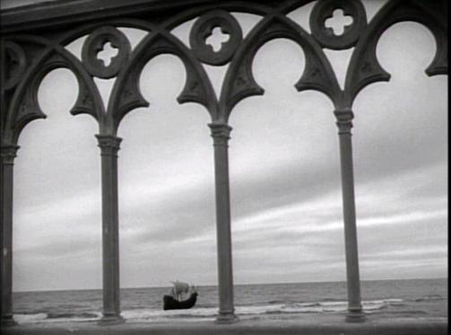 Fotogramma tratto dal film Otello di Orson Welles, 1952