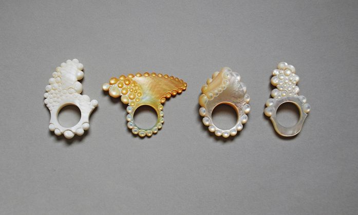 Danni Schwaag, Mother of pearl, anelli, 2011