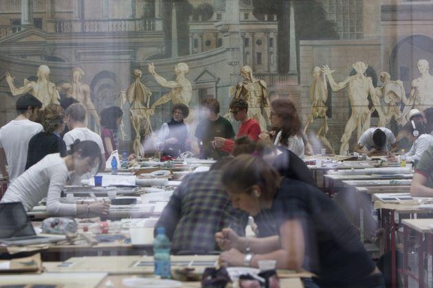Accademia di architettura di Mendrisio. Atelier di disegno
