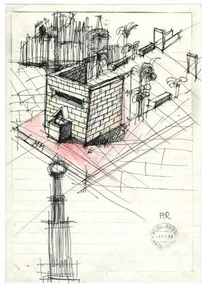 Aldo Rossi, Senza titolo, 1988